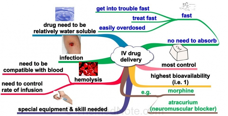 Post image for Intravenous Route of Drug Delivery